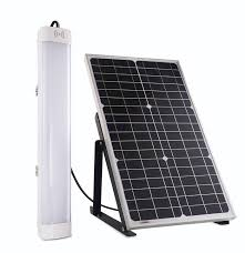 apollo power and light all in one for solar powered led batten lights is a new design for