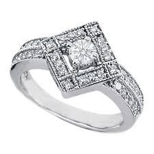 diamond shaped rings images European engagement ring 0 60 carat pave diamond shaped jpg