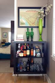 Small Bar Cabinet Furniture Supple Drawer And Homewet Bar Concept With Drawer For Glass