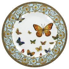 butterfly platter blue butterfly porcelain dessert plate 8 s 4 decorate collect