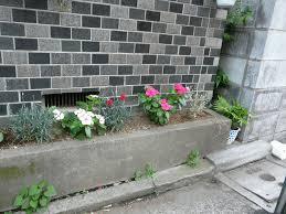 Concrete Planter Tokyo Diy Gardening Archive Concrete Curbside Planter