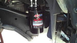 nissan titan oil filter fram dodge ram 2500 5 9 cummins diesel oil bypass amsoil bmk21 install