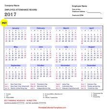 staff leave planner template employee attendance calendar 2017 printable calendar templates free employee attendance calendar 2017