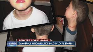 dangerous window blinds sold in local stores youtube