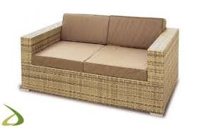 divanetto vimini divano in vimini da esterno post arredo design