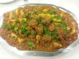 recettes de cuisines faciles et rapides boulettes de viande dans leur sauce tomate au cumin basboussa