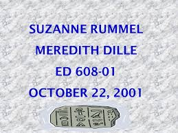 suzanne rummel meredith dille ed october 22 ppt download