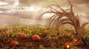 halloween background crow pumpkins wallpapers for desktop group 67