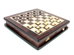 Chess Set Travel Magnetic Chess Set Rosewood 9