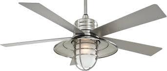 Nickel Ceiling Fan With Light Concept I 52 Ceiling Fan Minka Aire Fans Inside Brushed Nickel