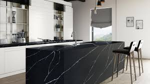 white kitchen cupboards black bench what you need to about using black in your kitchen