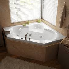bathroom terrific corner whirlpool bathtub photo bathtub ideas wondrous corner whirlpool tub shower combo 49 sw sublime drop in corner whirlpool bath