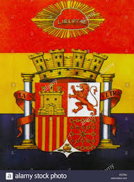 The Spain Flag Flag And Coat Of Arms Of The Spanish Second Republic During The