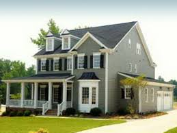 Style Of Homes by Exterior House Paint Colors Ideas In A Grey Painted Wooden Walls