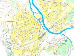 Northern Lights Map City Maps
