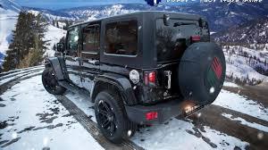 jeep sahara maroon 2014 jeep wrangler sahara unlimited receives premium treatment