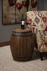 amazon com imax 74211 napa barrel table home u0026 kitchen