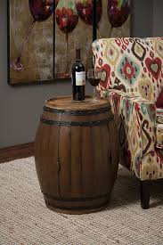 Wine Barrel Home Decor Amazon Com Imax 74211 Napa Barrel Table Home U0026 Kitchen