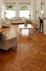 oak aged parquet woodblocks the mixture of tones and pattern