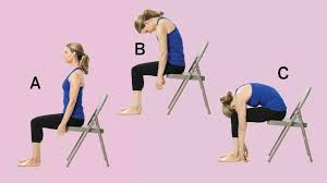 Chair Yoga Poses The Best Chair Yoga Moves To Combat Back Pain Los Angeles Public