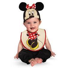 Halloween Costume Infant Minnie Mouse Bib U0026 Hat Infant Baby Toddler Girls Halloween Costume