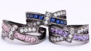 blue amethyst rings images Amethyst cross finger ring giveaway deal horde JPG