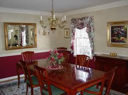 Dining Room With Chair Rail Chair Rail Paint Ideas Dining Room With Chair Rail Shadow Boxing