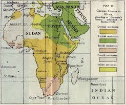 africa map by year germanys plans for africa in 1917 map from the the
