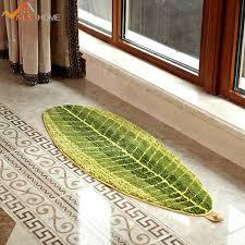 teppich k che 17 7 wx47 2 l 45x120 cm skid küche matten teppich blatt form