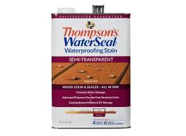 5 Expert Tips For Staining A Deck Consumer Reports by Thompson U0027s Waterseal Waterproofing Semi Transparent Home Depot