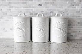 kitchen contemporary cookie jar kitchen canister sets kohl s modern kitchen canisters rpisite com
