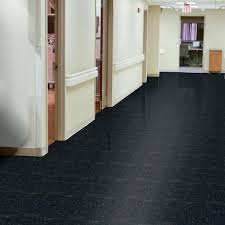 Commercial Laminate Floor Armstrong Classic Black 51910 Vct Tile Excelon Imperial Texture 12x12