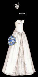 wedding dress version strapless a line wedding dress with feather fascinator and blue