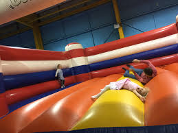 badminton for you bouncy castle heaven glasgow with kids