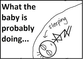 Baby Kicking Meme - baby kicking chick writes stuff
