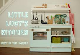 play kitchen ideas mint in the middle little lucy u0027s mint play kitchen