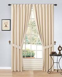 aurora home grommet top thermal insulated blackout 64 inch curtain