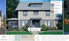 delightful beautiful exterior paint visualizer online paint color