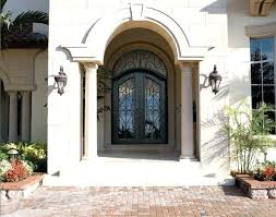 wrought iron front entry doors ornamental iron doors a