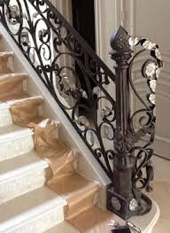 wrought iron stair handrails railings systems houston tx