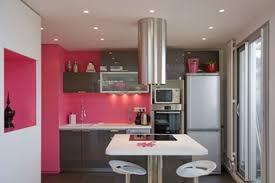 Cuisine Grise Anthracite by Indogate Com Cuisine Moderne Rose
