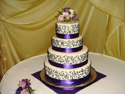 purple quinceanera cake cakes by marlene flickr