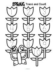 spring theme activities and printables for preschool pre k and