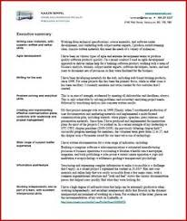 Good Skills For A Job Resume by Resume Skills Summary Examples Skills Summary Resume Example