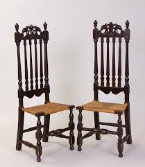 Antique Banister Banister Back Side Chairs Cape Ann Museum An American Art