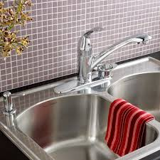 streaming filter kitchen faucet with soap dish american standard