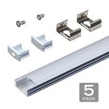 kitchen cabinet lighting brackets armacost lighting ribbonflex aluminum led light flat