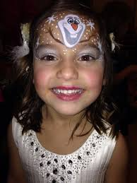 olaf face paint christmas winter face paint pinterest olaf