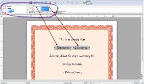 mail merge from excel openoffice org training tips and ideas printing a group of
