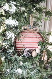 diy embroidery hoop christmas ornament my creative days